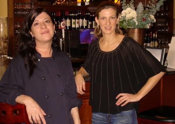 Chef Meri with Enrigo owner Amy XXX