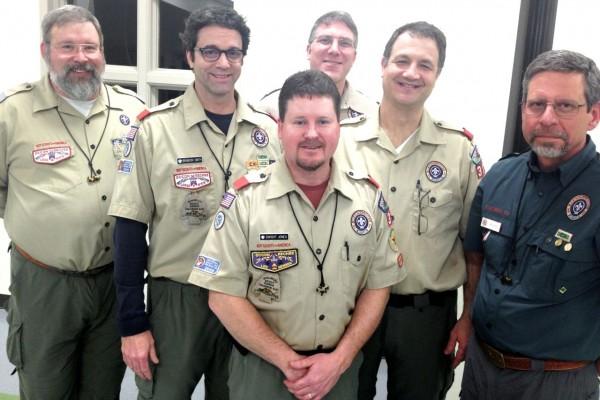 Front: Dwight Jones, back row L-> R:  Ed Walsh, Brandon Smith, Mark Donaldson, Greg Fiorentino, Dan Lang