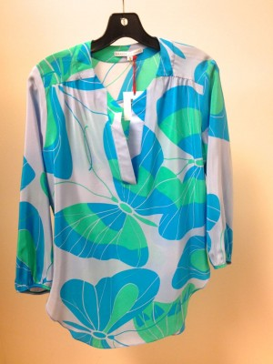 this tunic from Peachy Keen captures the blue mint color soft color way popular for spring 2013