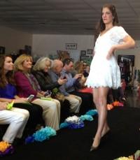 Amanda Uprichard Ivory dress with lace detailing