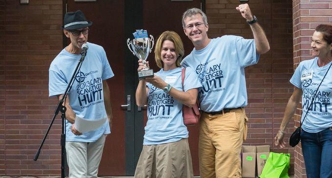 Team Epic, the Adult Team winners