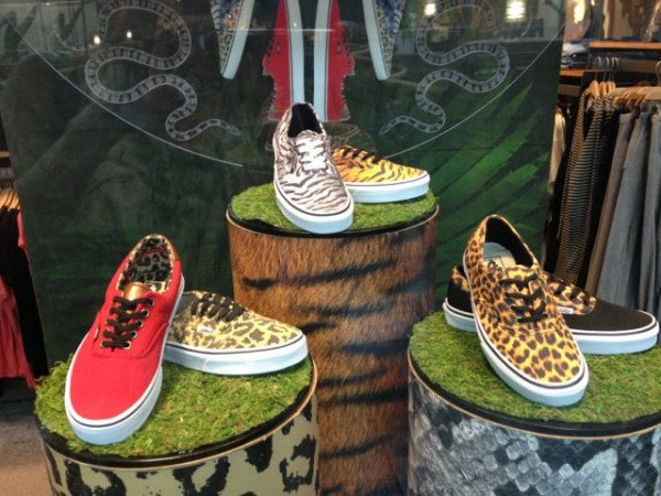 Vans- animla prints