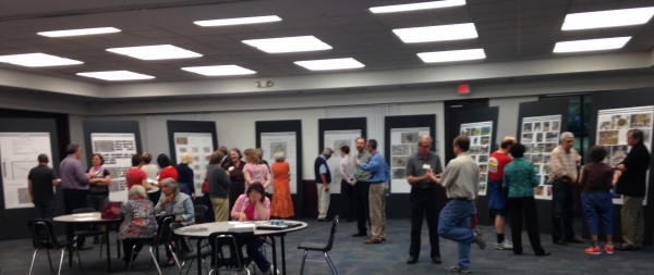 Public Input session for the downtown streetscape  and Park plan