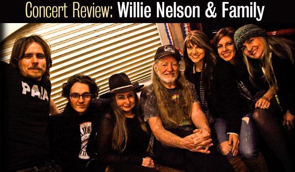 willie nelson concert