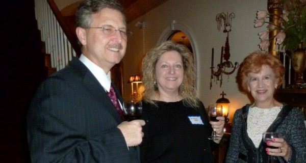 Attendees enjoy the Sister Cities'  2012 Beaujolais event