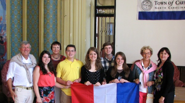 Delegates from Le Tourquet France will be visiting Cary during this year's event.