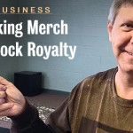 jud patterson- making merch for rock royalty