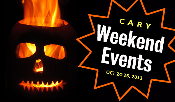 weekend events in cary