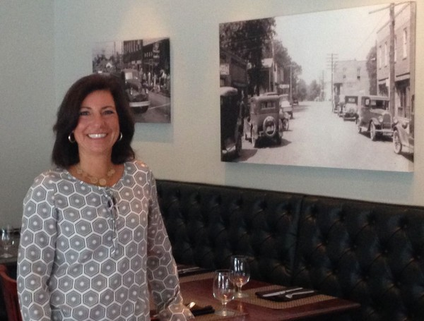 Mary Lynn Fitzgerald, partner and general manager of Academy Street Bistro in Downtown Cary