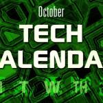 October Tech Calendar