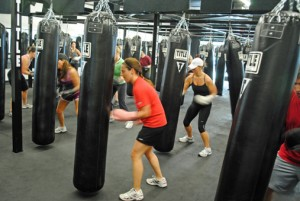 Photo from Title Boxing of a Mom's Night Out event.