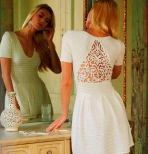Lace details will continue to be strong this season
