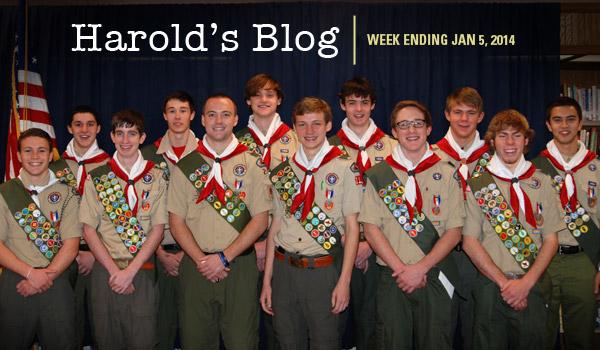 12 eagle scouts