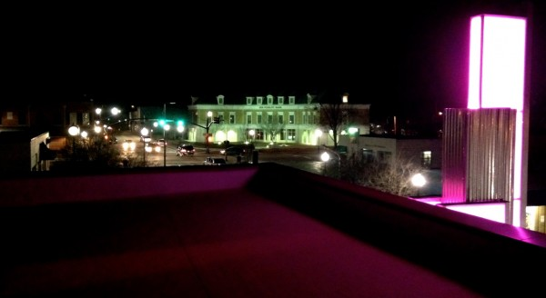 photo taken from the roof patio by Lindsey Chester