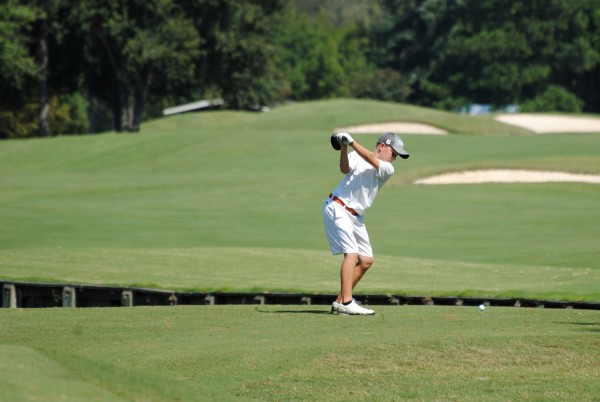 Jack Massei golfing at Prestonwood in Cary