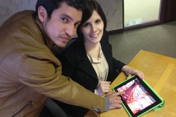 Pat Garcia and Krystyl Boyle of Pix4Biz