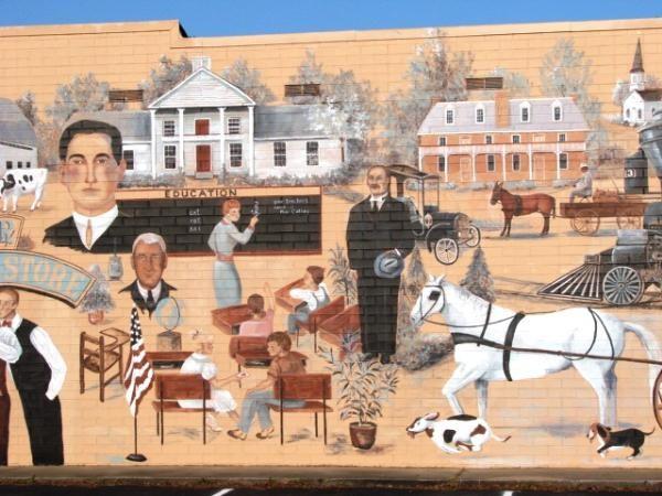 Val Fox Mural Cary NC
