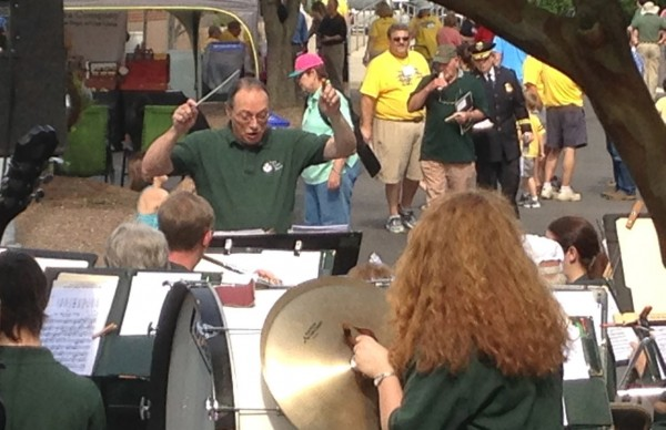 Cary Band entertains the crowd