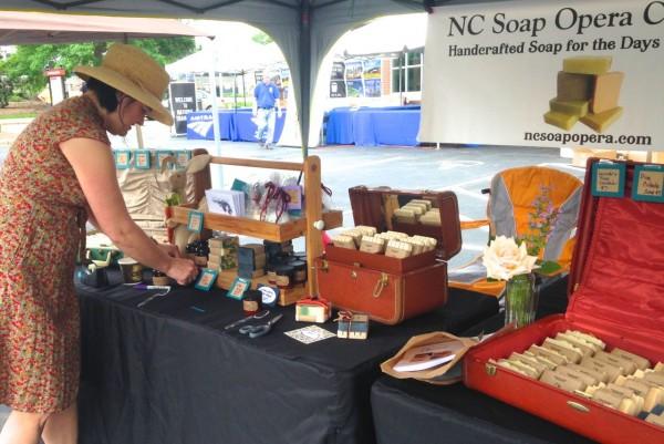 Local soap maker Soap Opera setting up shop