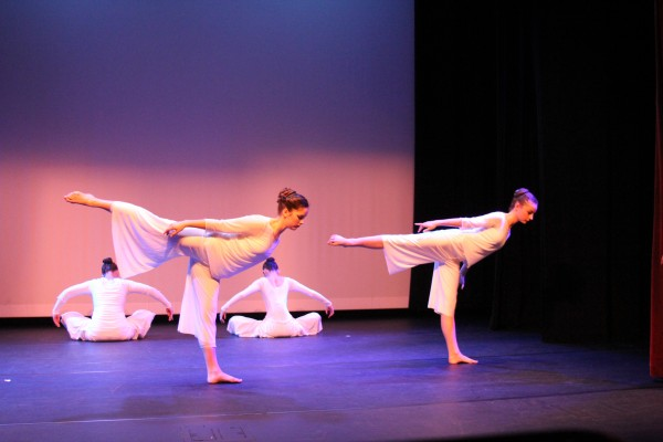 Graceful Expressions Company dancers at their benefit concert in May.