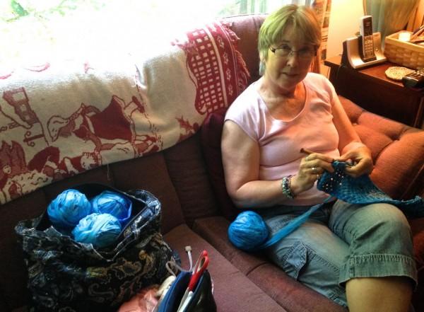 crocheting plastic bags