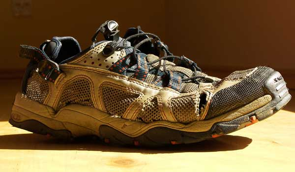 old-running-shoe