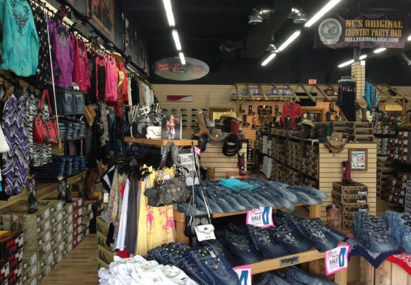 The Country Connection Western Store, located in Harrison Square Shopping,  has what you need for your next country concert