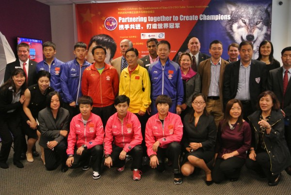 photo of delegation provided by Triangle table Tennis Association