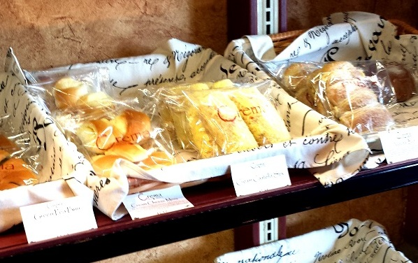 Crema offers a selection of Korean-style, homemade baked goods