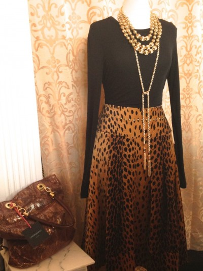 Leopard and skin prints have become a basic says Adore owner Nancy Alinovi