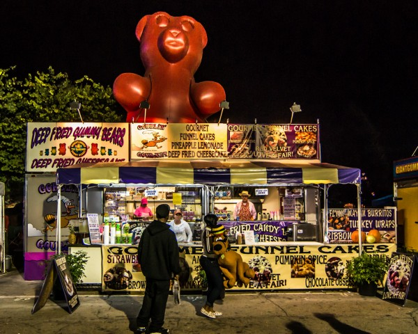 deep fried gummi bears