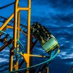 roller coaster - nc state fair