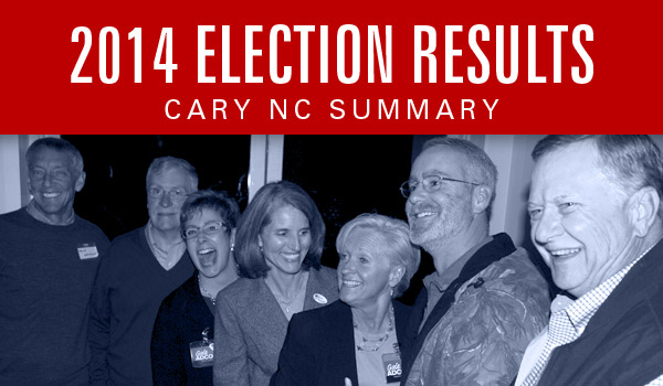 2014-Cary-Election-Results