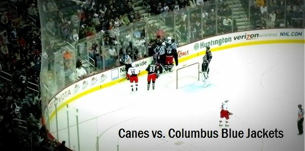 Canes vs. Blue Jackets