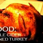 apple cider brined turkey