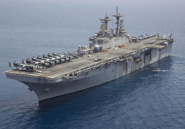 The USS Kearsarge (Navy pic)
