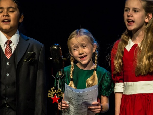 Every holiday season, the Cary Players includes a few children actors in their play