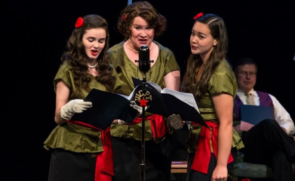 During breaks and intermission, the jingle singers sang short advertisements for local merchants.