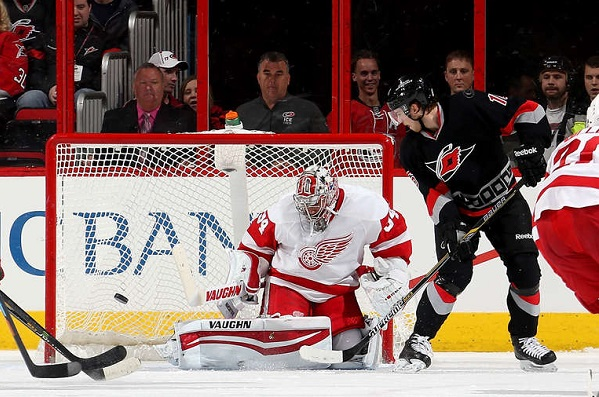Canes vs. Red Wings