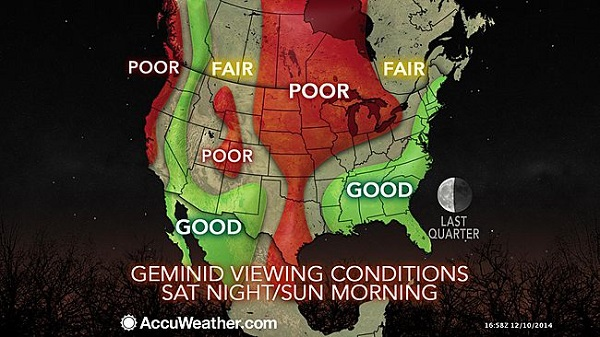 Meteor Shower Visibility