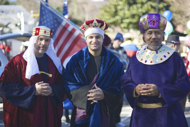 Three Kings Day Parade was January1, 2015 in Downtown Cary