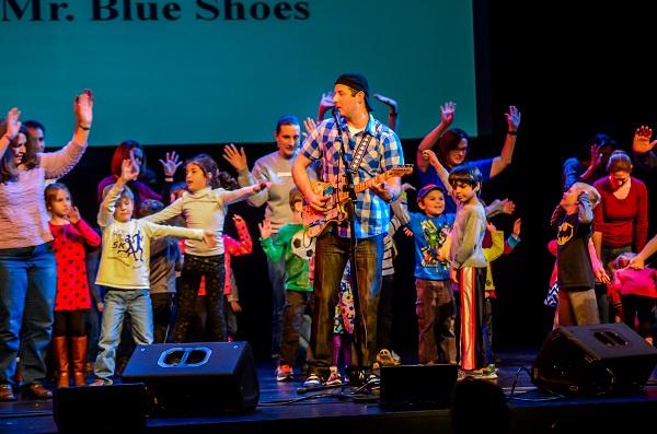 Mr. Blue Shoes