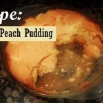 Peach Pudding