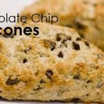 Chocolate chip scones