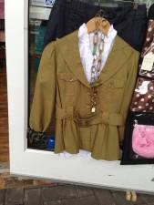 3/4 sleeve safari jacket found at My Girlfriend's Closet