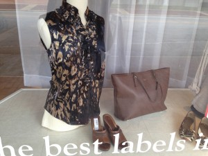 Annie's Attic always does well with animal prints and neutrals for fall