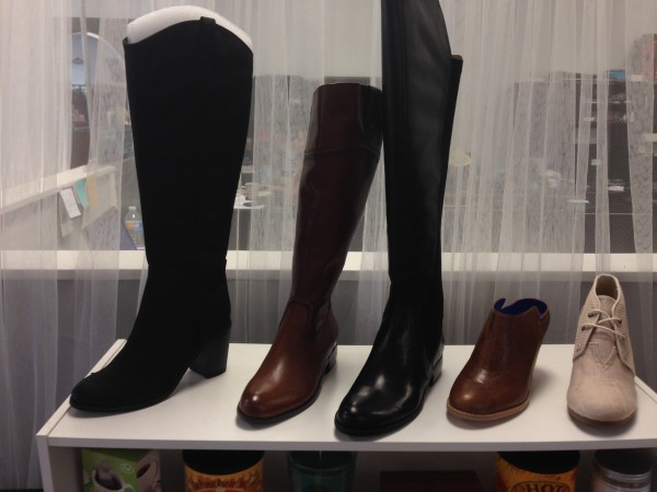 Riding boots and ankle booties can be worn with all the looks this fall.