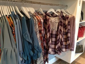 More plaid mixed with lace was found at Swagger in Lochmere Pavilion