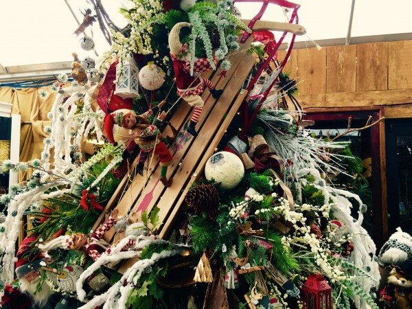 Garden Supply Co's owner Deborah Ramsey has been ready for Christmas since mid-September with seven over-the-top decorated Christmas trees.