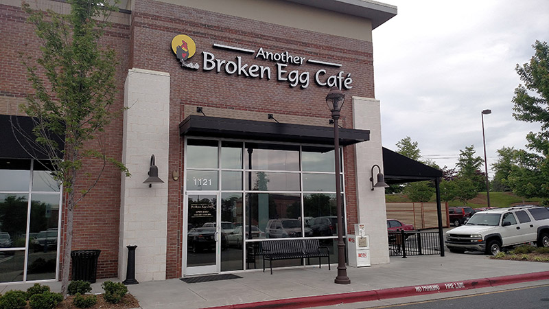 Another Broken Egg Café already has locations in the Triangle, such as this one in Morrisville.